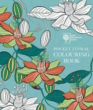 RHS Pocket Floral Colouring Book (Colouring Books), RHS, New condition, Book