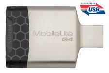 KINGSTON MOBILELITE G4 USB 3.0 CARD READER for micro SD SDHC SDXC UHS-I UHS-II