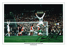 LARGE NORMAN HUNTER SIGNED PHOTO AUTOGRAPH COA LEEDS UNITED UTD FA CUP 1972