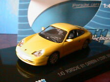 PORSCHE 911 996 CARRERA 4 COUPE 2001 YELLOW KDW 711 COLLECTIONS 1/43 GELB JAUNE