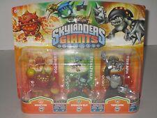Activision Skylanders Giants 3 Pack ~ Eruptor, Stealth Elf & Terrafin **SEALED**