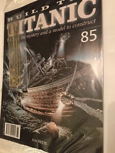1/250 Hachette Build The Titanic Model Ship Issue 85Inc Part Pictured.