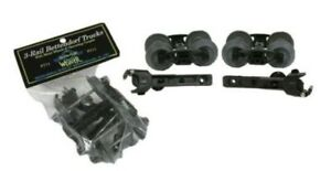 Weaver P711 O Scale 70-Ton Bettendorf Plastic Trucks W/ Metal Wheels  (Pack of