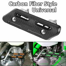 Motorcycle Exhaust Muffler Pipe Heat Shield Ankle Guard Dirt Pit Bike Universal