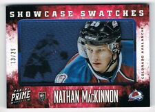 2013-14 Panini Prime Rookie Showcase Swatches Jersey #RS-NM Nathan MacKinnon /25