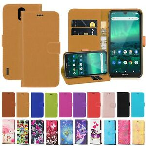For Nokia 1.3 2.3 Protective PU Leather Wallet Phone Stand Magnetic Case Cover