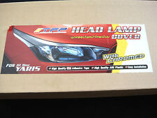 CHROME HEAD LAMP LIGHT LINE COVER TRIM FOR NEW TOYOTA YARIS VITZ 2014 HATCHBACK