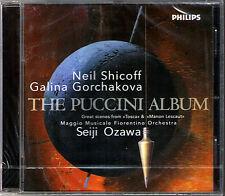 Seiji Ozawa Puccini Album Neil Shicoff Galina Gorchakova Tosca Manon Lescaut CD