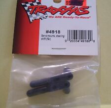 TRAXXAS HOBBY R/C RADIO CONTROL CAR #4918 SERVO MOUNTS STEERING SHIFT PARTS