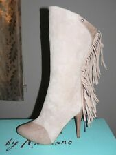 New Authentic Guess  Boot By Marciano Sissy Beige/ Natural Suede Upper Size  8.5