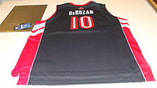 NBA Toronto Raptors DeMar DeRozan Black Youth S Adidas Basketball Jersey Swing
