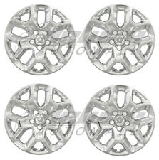 "OPEN BOX: 17"" Chrome Wheel Skins / Hubcaps FOR 2015-2019 Jeep Renegade Set of 4"