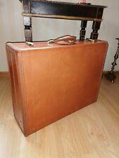 Koffer Leder Reisekoffer Antik Stil Oldtimer Used USA Vintage Rar Style 4655