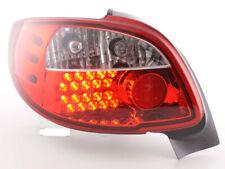 FK-Automotive LED Rückleuchten Set Peugeot 206 CC Cabrio Bj. 98-05 klar/rot