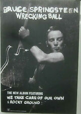 Bruce Springsteen - WRECKING BALL Promotional Poster [2012] - VG++