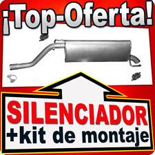 Silenciador Trasero FIAT GRANDE PUNTO (199) OPEL CORSA D 1.4 desde 2005 CDC