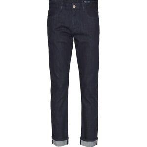 KnowledgeCotton Apparel Oak Rinse Blue Selvedge Denim Jeans Hose GOTS Vegan Bio