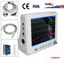 Vital Signs Patient Monitor Cardiac Monitor Ecg Nibp Resp Pr Spo2 Temp Tft Color
