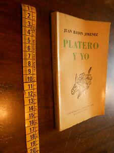 LIBRO:Platero y yo – Elegia Andaluza (29a Edición) Año: 1907-1916