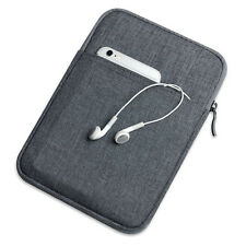 """Universal Canvas Zipper Sleeve Pouch Carry Bag Case Cover For 7"""" - 8"""" Tablet PC"""