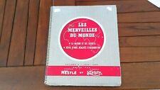 LES MERVEILLES DU MONDE NESTLE KOHLER ALBUM 5 1958-1960 CHROMOS CHOCOLAT