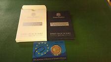 Andorra 2 euro 2014 - 20 años Consejo de Europa placa pulida pp