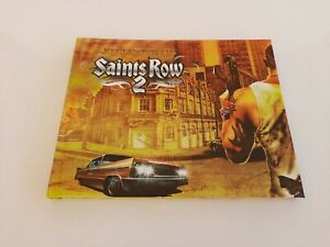 Exclusive Art, Saints Row 2 Mini Hardcover Art Book, Used, From Collectors Ed