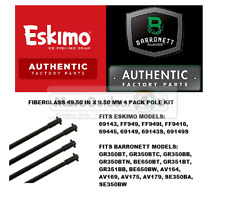 48713 Barronett Blinds Eskimo Ice Shelters Replacement Poles 49.5-Inch X 9.50-Mm