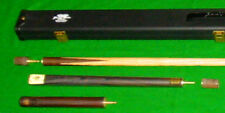 BCE GRAND MASTER SNOOKER POOL BILLIARDS TABLE CUE, EXTENSION & MASTER CASE GM-9