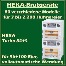 Heka Turbo 84 + S - Incubateur avec séparé Dispositif d'Éclosion, pour 96+100