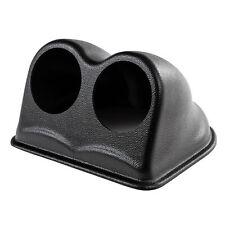 Revotec 52mm DashTop Double 2 Leather Grain Effect Gauge Mount Pod