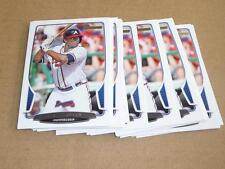 2013 Bowman BASE PAPER JUSTIN UPTON LOT OF 24 ATLANTA BRAVES #11