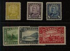 Canada  168-69,171, 173-75  Mint  NH    catalog $265.00         MS1228