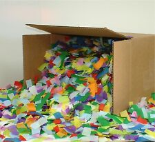 LARGE BOX - CONFETTI tissue for the Chauvet DJ Funfetti cannon multi