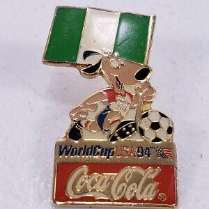 1994 USA World Cup FIFA Soccer Pin STRIKER THE DOG Coca Cola Team USA