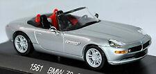 BMW Z8 Roadster 2000-03 Plata Metálico 1:43 Solido 1561