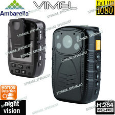 Police Camera Security Guard Body Recorder Vimel Full HD 1080P Night Vision Cam