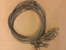 Trappping: 12 - Snares, 72� length 3/32 7x7 cable, Dyed and ready to use! Coyote