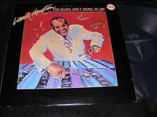 LIONEL HAMPTON 2 Lp The Blues Ain't News To Me VERVE 1982 50s era Band Sides!