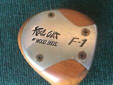 Wood Brothers Kool Cat F-1 Cork Filled Persimmon Driver Regular Flex Graphite RH