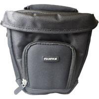 Fujifilm Finepix Super-Zoom V-Shaped Digital Camera Case (Black)