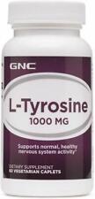 GNC L-Tyrosine 1000mg 60 Vegetarian Caplets