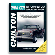 Chilton Repair Manual for 1975-1979 Chevrolet C10 - Shop Service Garage Book ot