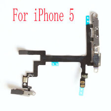 For iPhone 5 Power Flex Cable - Mute Switch - Volume Buttons With Brackets