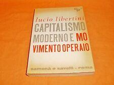 lucio lambertini capitalismo moderno e movimento operaio samonà e savelli 1965