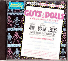 """Guys & Dolls"" A Decca Original Cast Album - CD"