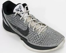 Nike Zoom Kobe VI 6 Metallic Silver Men's Shoes Size 10.5