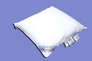 Sluka Kopfkissen Kissen 80x80 cm - 50 % Daunen - NEU - weiß