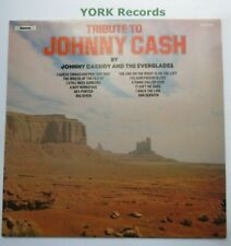 JOHNNY CASSIDY - Tribute To Johnny Cash - Ex Con LP Record Chevron CHVL 071