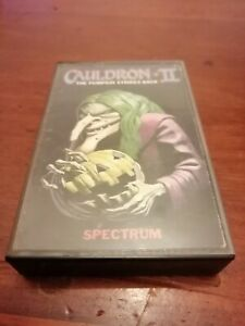 Cauldron II (2)-ZX Spectrum 48K/128K  Palace Software 1986 Tested/Working
